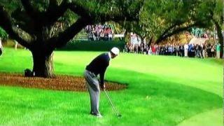 Tiger Woods World Challenge Golf Tournament 2012 16th hole FAIL